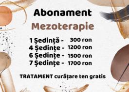 1 - Mezoterapie